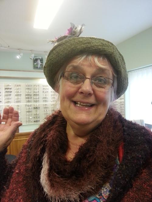 Tromans Family Eye Care - trying on glasses