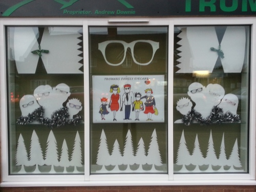 Tromans window display